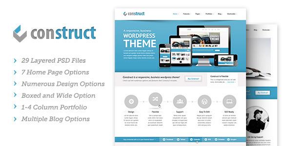 Construct | PSD - Creative PSD Templates