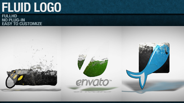 Fluid Logo By Marcobelli VideoHive - Logo animation after effects template