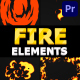 Cartoon Fire Pack | Premiere Pro MOGRT - VideoHive Item for Sale