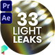 33 Real Light Leaks - VideoHive Item for Sale