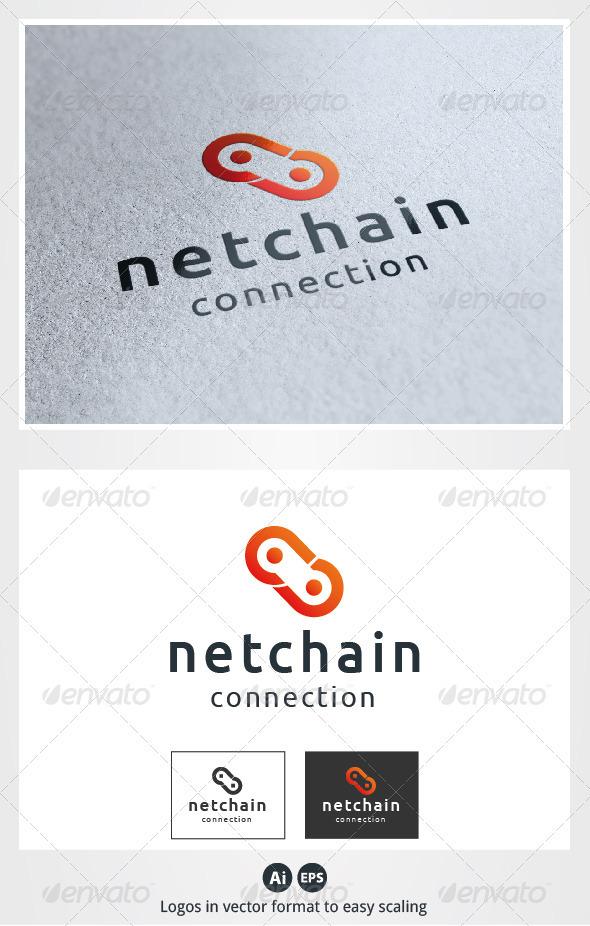 Net Chain Logo - Symbols Logo Templates
