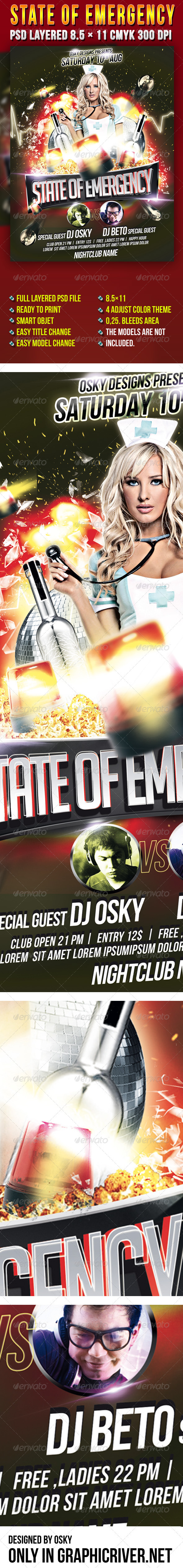 State Of Emergency - Clubs & Parties Events