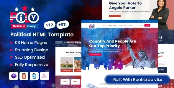 Pily - Political HTML Template