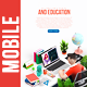 Mobile Online Education E - Learning - VideoHive Item for Sale