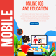 Online Job and Mobile Online Education - VideoHive Item for Sale