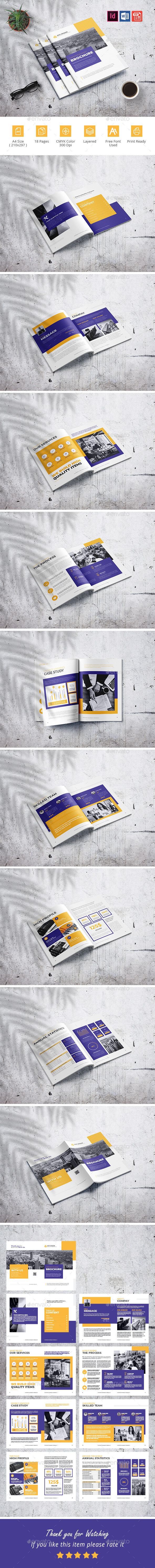 Corporate Business Brochure 18 Pages