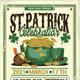 St Patrick Day Celebration Flyer