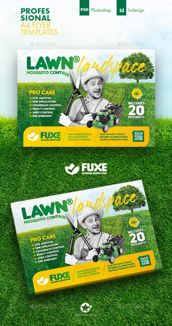 Garden Landspace Flyer Templates