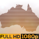 Abstract Australia Map Opener - VideoHive Item for Sale