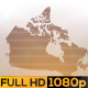 Abstract Canada Map Opener - VideoHive Item for Sale