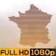 Abstract France Map Opener - VideoHive Item for Sale