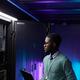 African American IT Engineer - PhotoDune Item for Sale