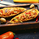Roasted sweet potato stuffed with vegetables - PhotoDune Item for Sale