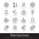 Viral Disease Diagnosis Symptoms Prevention Icon