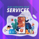 Services - Flat Concept - VideoHive Item for Sale
