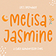 Melisa Jasmine - Cute Display Font