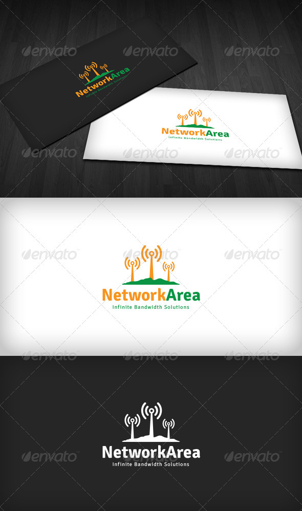 Network Area Logo - Symbols Logo Templates