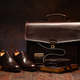 Still life shot of business men's briefcase - PhotoDune Item for Sale