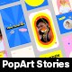 PopArt | Stories Pack - VideoHive Item for Sale