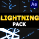 Cartoon Lightning Pack | After Effects - VideoHive Item for Sale