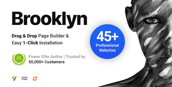 Brooklyn | Creative Multi-Purpose Responsive WordPress Theme Nulled