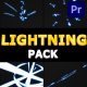 Cartoon Lightning Pack | Premiere Pro MOGRT - VideoHive Item for Sale