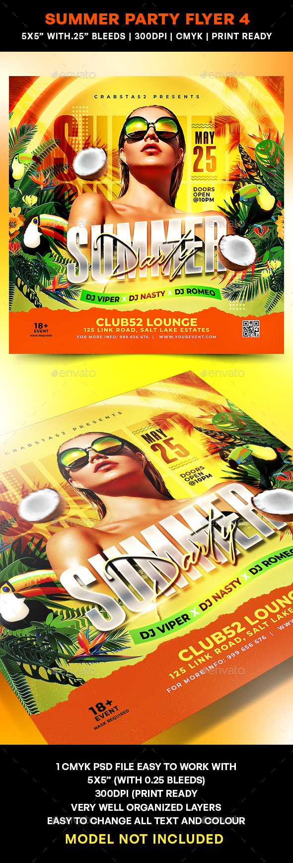 Summer Party Flyer 4