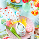 Colorful table setting for Easter - PhotoDune Item for Sale