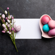 Easter greeting card with colorful easter eggs - PhotoDune Item for Sale