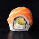 Sushi Roll on Black Background. - PhotoDune Item for Sale