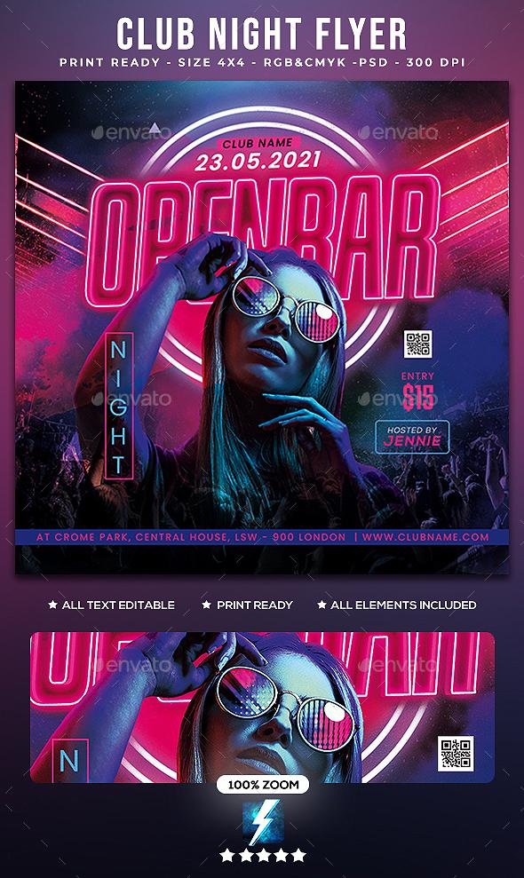 Club Night Flyer