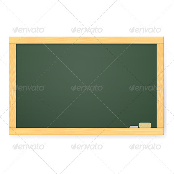 Realistic school board - Miscellaneous Vectors