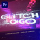 Glitch Distortion Intro Logo - VideoHive Item for Sale
