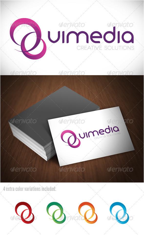 Vimedia Creative Solutions Logo - Abstract Logo Templates