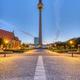 The Alexanderplatz in Berlin at dawn - PhotoDune Item for Sale