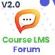 Course LMS Forum & Discussion Addon