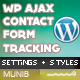 AJAX Contact Form with Tracking - WordPress - CodeCanyon Item for Sale