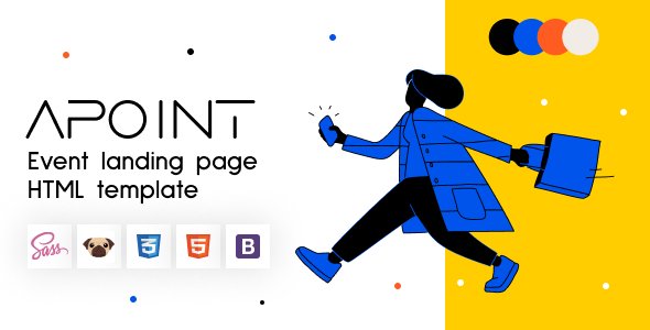 Apoint – HTML5 Event Website Template Landing Page