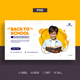 School Education Web Banner Template