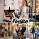 10 Fashion Lightroom Presets