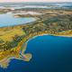 Braslaw Or Braslau, Vitebsk Voblast, Belarus. Aerial View Of Nedrava Lake And Green Forest Landscape - PhotoDune Item for Sale