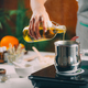 Pouring Natural Oil, Making Homemade Soap. - PhotoDune Item for Sale