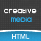 Creative Media One Page Html Creative Agency - ThemeForest Item for Sale