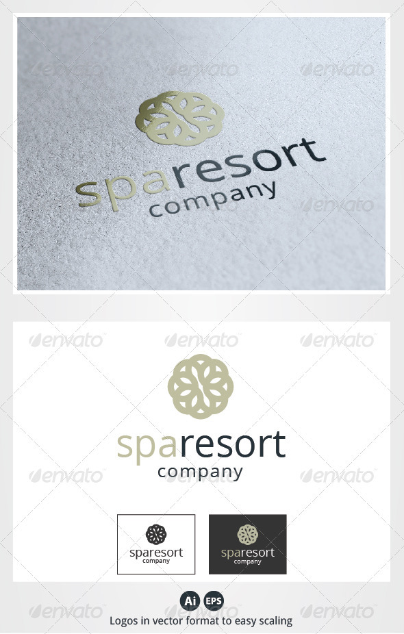 Spa Resort Logo - Symbols Logo Templates