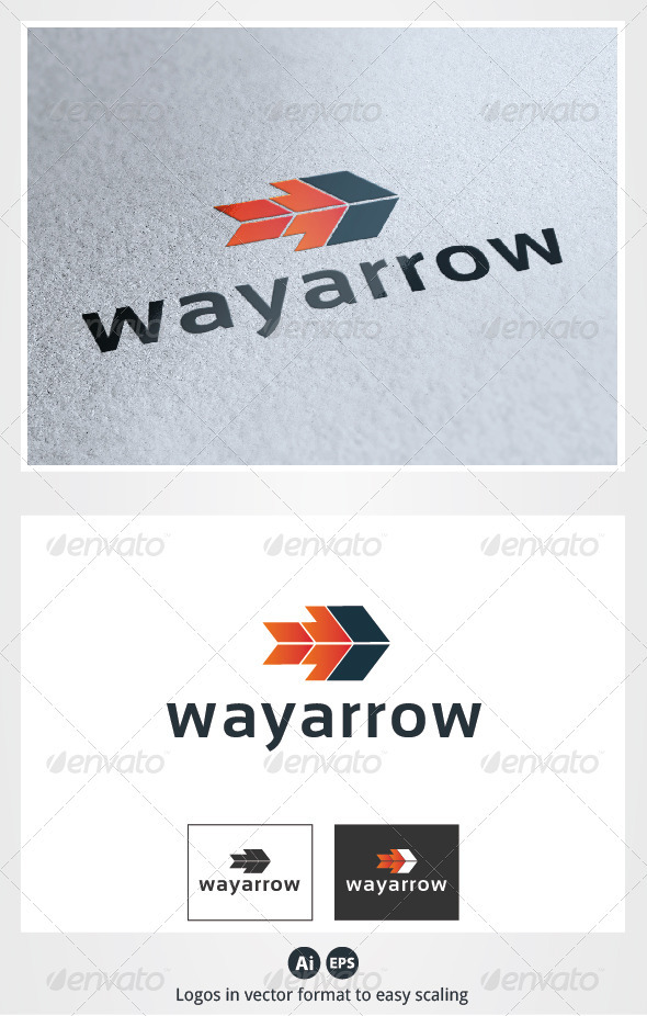Way Arrow Logo - Symbols Logo Templates