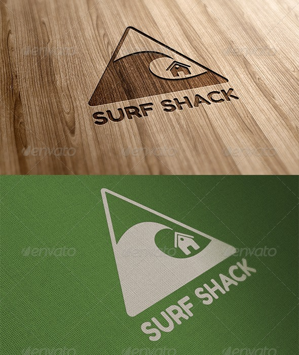 Surf Shack - Symbols Logo Templates