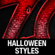 Halloween Text Styles - GraphicRiver Item for Sale