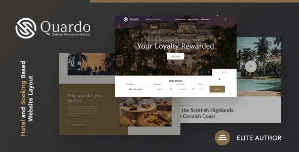 Quardo | Deluxe Premium Hotels Joomla Template