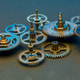 Gears and cogs clock - PhotoDune Item for Sale