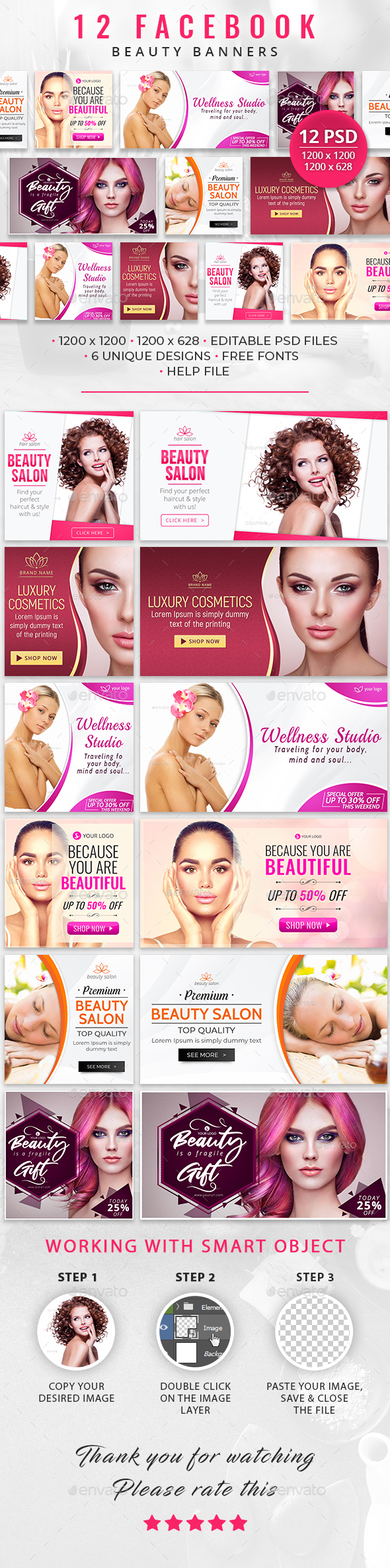 12 Facebook Beauty Banners